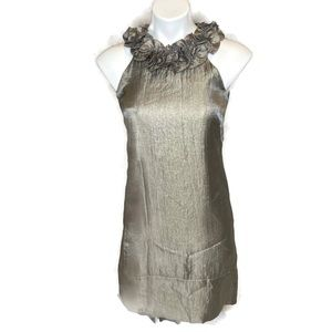 London Times Cocktail Dress Platinum in Color